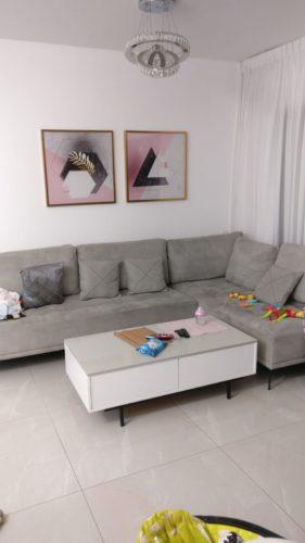 משולש ומשושה - זוג תמונות 3D לסלון בחלקים 48250 photo review