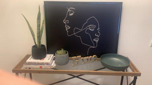 דמויות - תמונת קנבס לחדר שינה מוכנה לתלייה על הקיר 2052 photo review