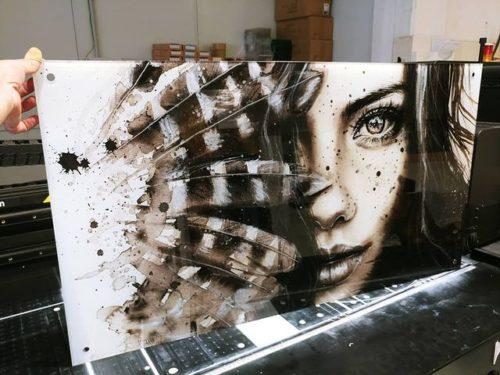 """תמונת זכוכית: 'אמלי' לסלון לחדר שינה מק""""ט E98899 photo review"""